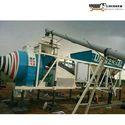 Reversible Mixer On Wheel Concrete Batching Plant