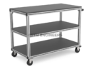 3 Shelf Industrial Trolley