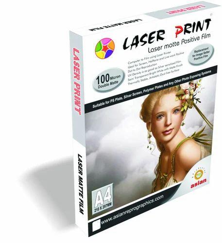 LASER POSITIVE MEDIA - Direct Laser Positive Film - 2125 - Gold