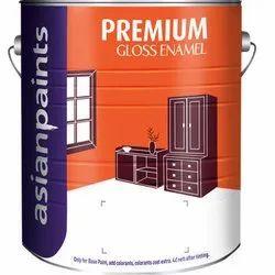 Asian Paints Gloss Premium Enamel Wall Paint, Packaging Type: Bucket