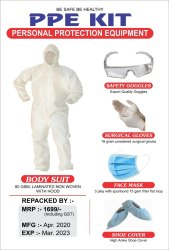 Personal Protection Kits Laminated waterproof Cloth for Hospitals and Nursing Home High Quality