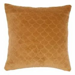 Quilted Velvet Cotton Cushion Cover