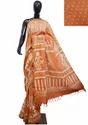 Bagru Print Maheshwari Silk Saree