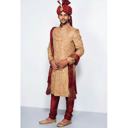 b542b7b0b8 Embroidered Groom Sherwani, Rs 6500 /piece, Virasat | ID: 16660145655