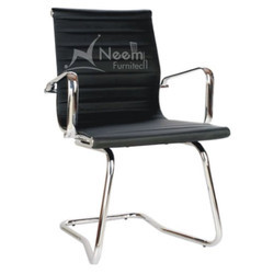 SS Leg Black Conference Chair