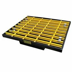 Ercon Single Drum Plastic Pallet