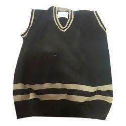 Woollen V Neck School Sweater