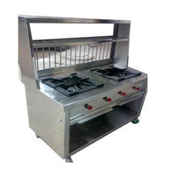 Stainless Steel Chaat Catering Counter