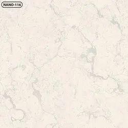 Plain Soluble Salt Vitrified Tiles, Thickness: 5-10 mm
