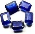 Octagon Blue Sapphire