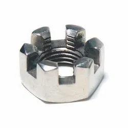 Mild Steel Castle Nut