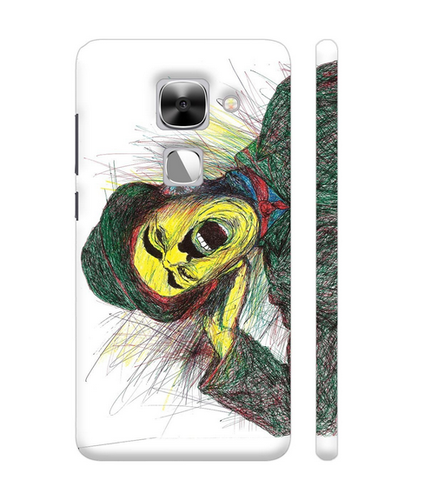 Hard Poly-carbonate (plastic) Good Morning Charlie Chaplin Artwork On LeEco Le Max 2 Cover