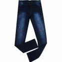 Slim Fit Denim Men's Faded Jeans