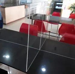 Acrylic Desk Partition