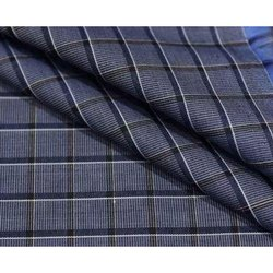 Polyster MLM Check Shirting Fabric