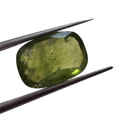 K. Gems Natural Green Sapphire Gemstone