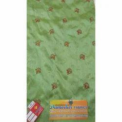 Green Silk Blouse Fabric