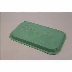 Plastic Green Tray