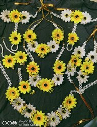 Yellow Flower Artificial Jewellery