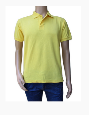 Mens Plain T Shirt Plain Yellow Polo T Shirts Pptag9 Ecommerce Shop Online Business From Nagpur