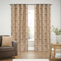 52 x 60 inch Peach Jacquard Blackout Curtain
