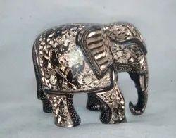 Brass Elephant Miniature