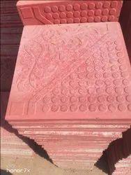 Interlocking Red Brick