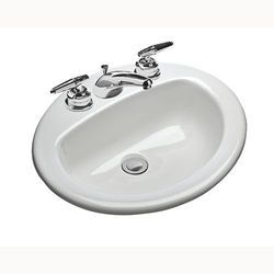 White Bath Sinks