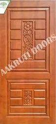 Decorative Carved Wooden Door