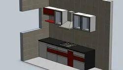 Modern Modular Kitchen Interior Service