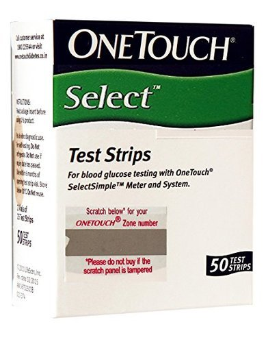 One Touch Test Strips 50 Pac