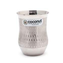Coconut Stainless Steel A8 Water Glass