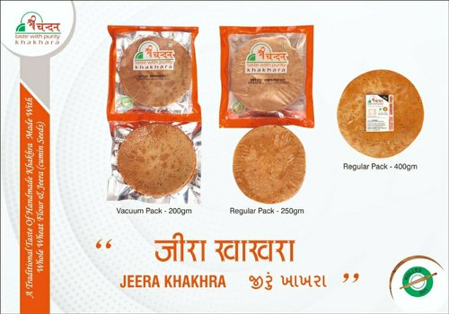 Jeera Khakhra, Package Size: 250g, Also Available In 400g