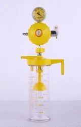 Bubble Humidifier And Vacuum Jar