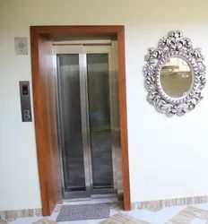 Glass Elevator Door