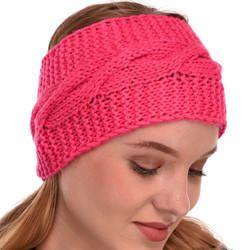 VR Designers Handknitted Winter Woolen Headband Earwarmer Earmuff ... 31477a209ca