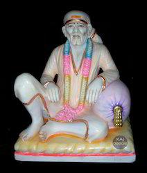 Dwarkamai Sai Baba Marble Statue