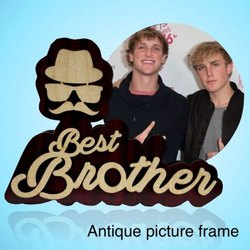 Wooden Best Brother Photo Frame