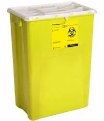 Sharp Knife Needle Disposal Container 15 Litre For Hospitals