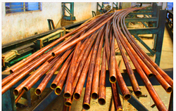 Copper Pipes And Tubes