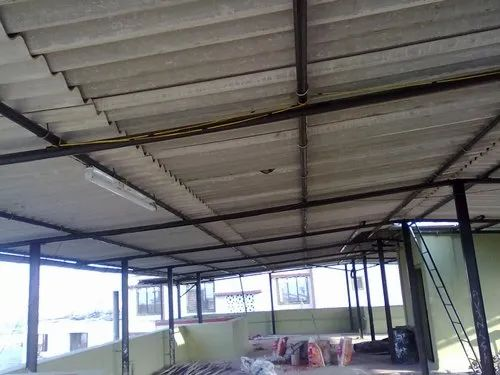 Residential Terrace Metal Roof Interior Design Service Provider From Thane