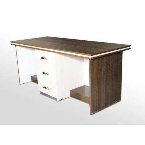 Two Seater Wooden Office Table