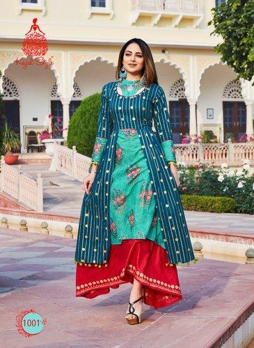 af3b29ae18 Kajal Style Cotton Kurtis, Size: S, M And L, Rs 695 /piece   ID ...