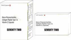 Muco Polysaccharides Collagen Peptide Type I & Vit C Capsule