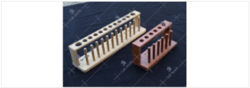 Test Tube Rack, Combined, Wooden