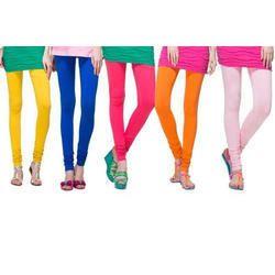 Real Dream Ladies Viscose Lycra Churidar Leggings