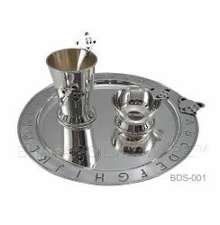 Pure Silver Baby Dinner Set