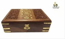 Wooden Carved Decorative Box
