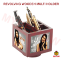 Customized Wooden Pen Holder