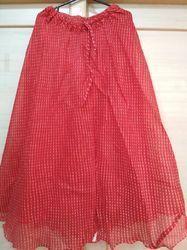 Red Quota Doriya Skirt